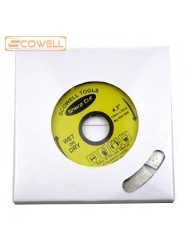 4.3 inch (110mm) Segment Diamond Saw Blades Dry Cutting Blade