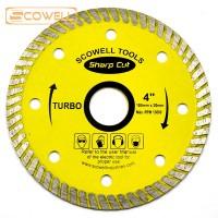 4 inch (105mm) Turbo Segment Diamond Cutting Disc